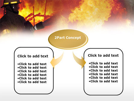 Fireman Free PowerPoint Template, Slide 4, 00543, Careers/Industry — PoweredTemplate.com