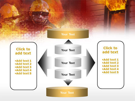 Free Firefighting PowerPoint Template Slide 13