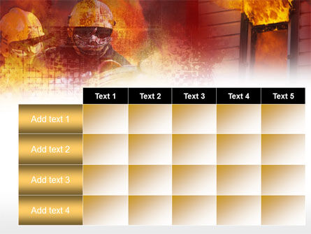 Firefighting Free PowerPoint Template Slide 15