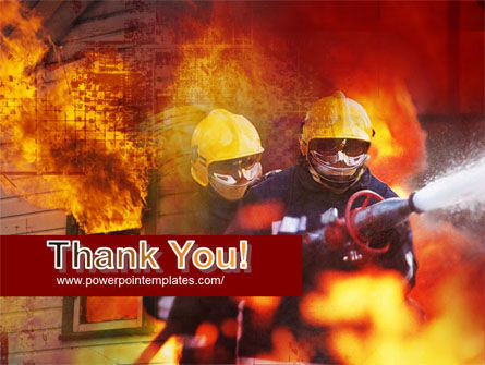 Free Firefighting PowerPoint Template Slide 20