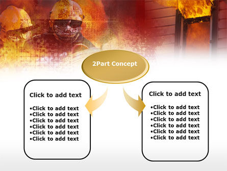Firefighting Free PowerPoint Template, Slide 4, 00544, Careers/Industry — PoweredTemplate.com