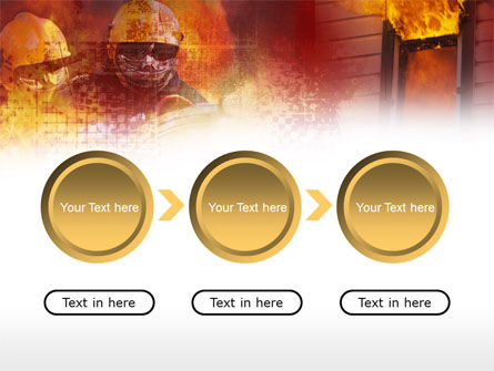Free Firefighting PowerPoint Template Slide 5