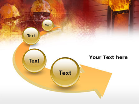 Free Firefighting PowerPoint Template Slide 6
