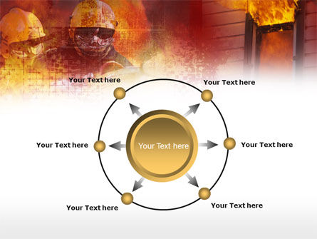 Free Firefighting PowerPoint Template Slide 7