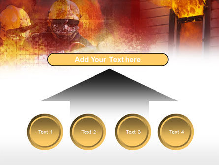 Free Firefighting PowerPoint Template Slide 8