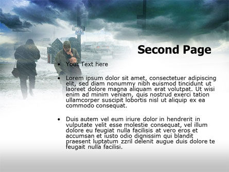 Winter Disaster PowerPoint Template Slide 2