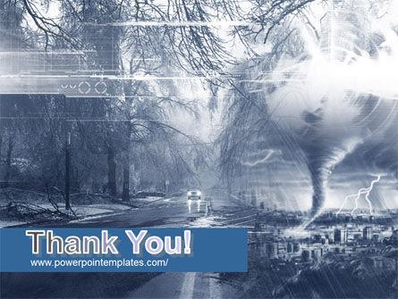 Hurricane PowerPoint Template Slide 20