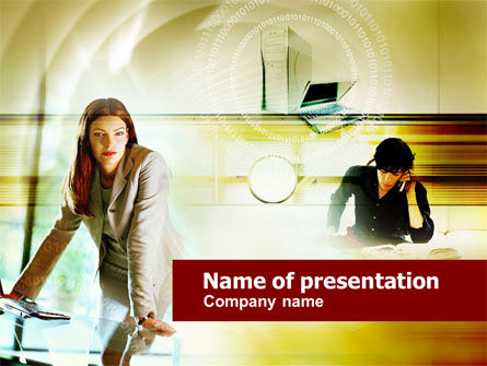 Business Concepts: Collaboration PowerPoint Template #00553
