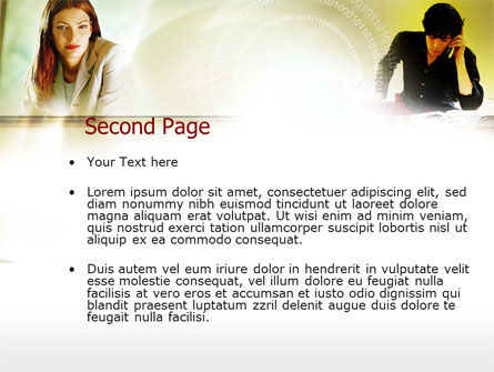 Collaboration PowerPoint Template Slide 2