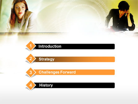 Collaboration PowerPoint Template, Slide 3, 00553, Business Concepts — PoweredTemplate.com