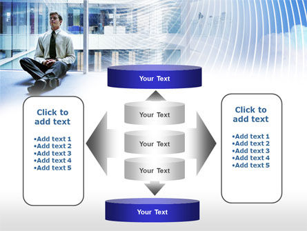Business Success Worker PowerPoint Template Slide 13