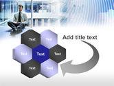 Business Success Worker PowerPoint Template#11