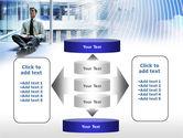 Business Success Worker PowerPoint Template#13