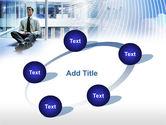 Business Success Worker PowerPoint Template#14