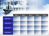 Business Success Worker PowerPoint Template#15