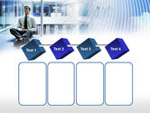 Business Success Worker PowerPoint Template#18