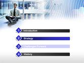Business Success Worker PowerPoint Template#3