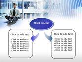 Business Success Worker PowerPoint Template#4