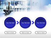 Business Success Worker PowerPoint Template#5