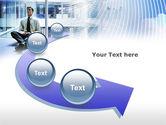 Business Success Worker PowerPoint Template#6