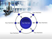 Business Success Worker PowerPoint Template#7