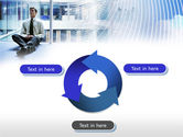 Business Success Worker PowerPoint Template#9