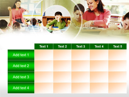 Primary School Teaching PowerPoint Template Slide 15