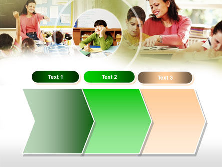Primary School Teaching PowerPoint Template Slide 16