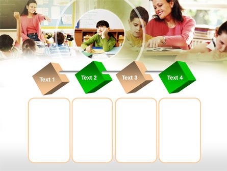 Primary School Teaching PowerPoint Template Slide 18