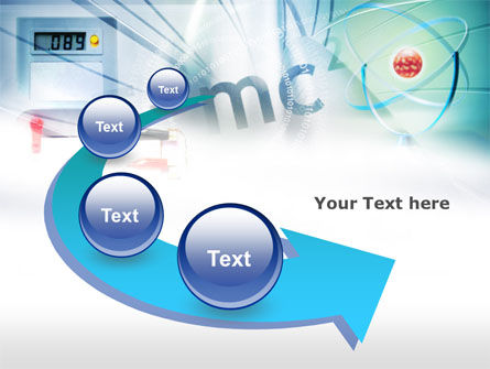 Physics Lessons PowerPoint Template Slide 6