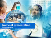 Education & Training: Young Chemists Free PowerPoint Template #00562