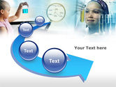 Young Chemists Free PowerPoint Template#6