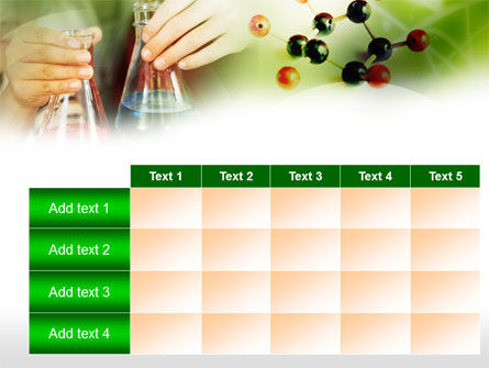 School Chemistry Experiments PowerPoint Template Slide 15