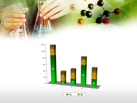 School Chemistry Experiments PowerPoint Template Slide 17