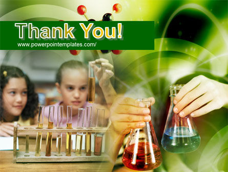 School Chemistry Experiments PowerPoint Template Slide 20
