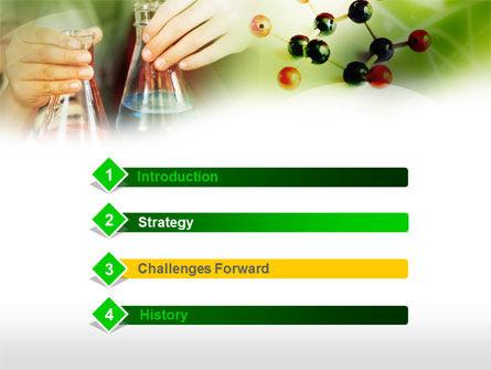 School Chemistry Experiments PowerPoint Template, Slide 3, 00563, Education & Training — PoweredTemplate.com