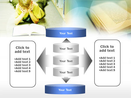 Study Hard PowerPoint Template Slide 13
