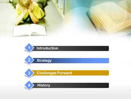 Study Hard PowerPoint Template, Slide 3, 00565, Education & Training — PoweredTemplate.com
