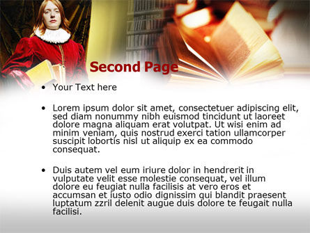 English Literature PowerPoint Template Slide 2