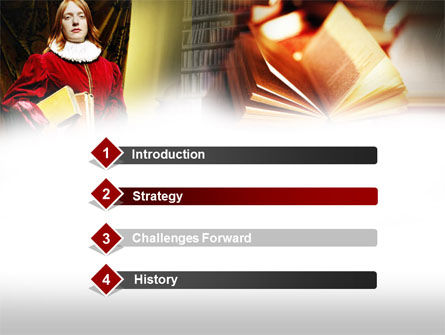 English Literature PowerPoint Template Slide 3