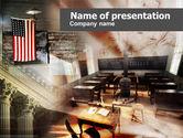 Legal: 美国历史课PowerPoint模板 #00567