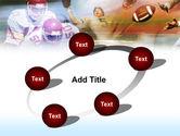 American Football Dribbling PowerPoint Template#14