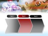 American Football Dribbling PowerPoint Template#16