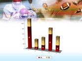 American Football Dribbling PowerPoint Template#17