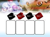 American Football Dribbling PowerPoint Template#18