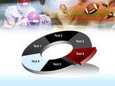 American Football Dribbling PowerPoint Template#19