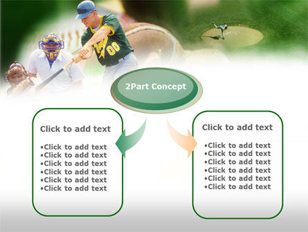 Baseball Rules PowerPoint Template, Slide 4, 00571, Sports — PoweredTemplate.com