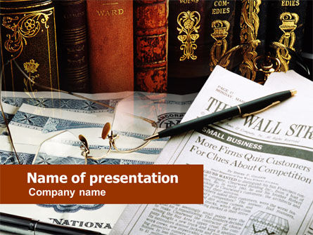 Business: Business Analytic Studying PowerPoint #00572