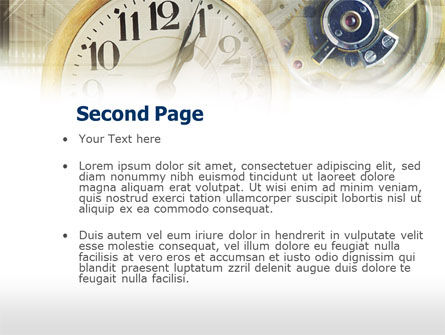 Business Time Management PowerPoint Template Slide 2