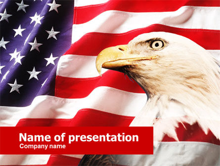 America: American Bald Eagle PowerPoint Template #00574